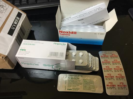 フィナステリド錠1mg(フィンペシア)とミノキシジルタブレット5mg